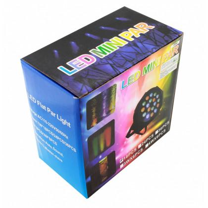 LED party reflektor RGB