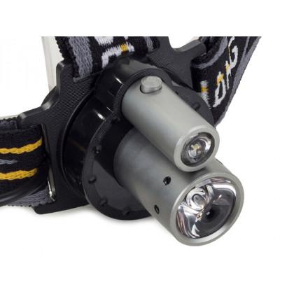 Čelová CREE baterka - R6 na baterky