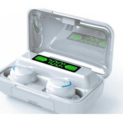 Bezdrôtové bluetooth slúchadlá s powerbankou S10