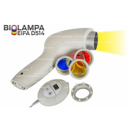 Biolampa Eifa D514 + kolorterapia 7 filtrov + veľký stojan
