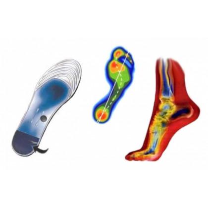 Magnetické gélové vložky do topánok - transparentné