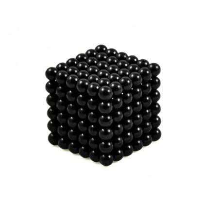 Antistresové magnetické guličky NeoCube -  čierne v darčekovom balení