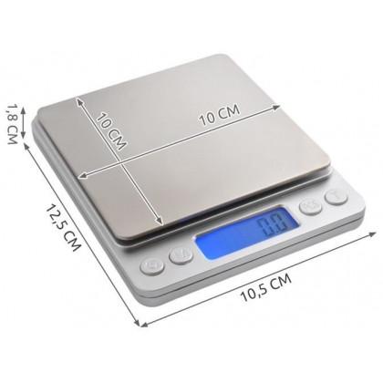Oceľová kuchynská váha do 2kg