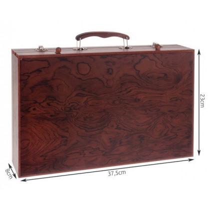 Profesionálna výtvarná sada v štýlovom kufríku