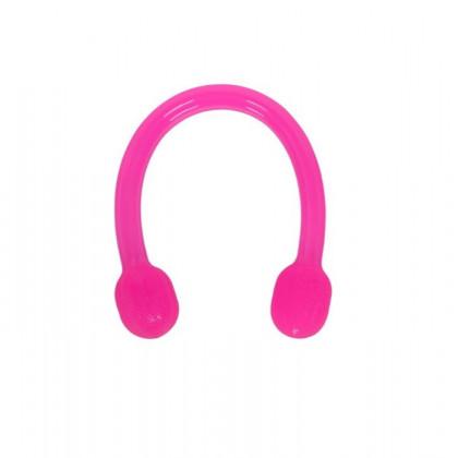 Silikónová odporová guma na posilňovanie - Jelly expander - ružová