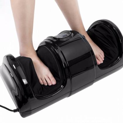 Shiatsu multifunkčný masážny prístroj na nohy + diaľkový ovládač